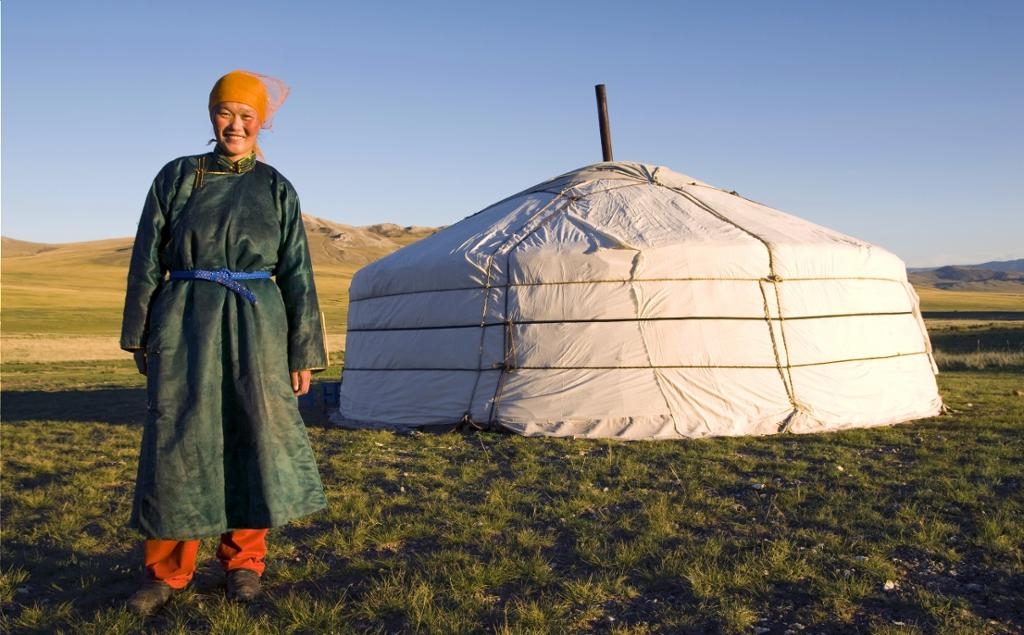 Image result for Stay in a yurt in Mongolia